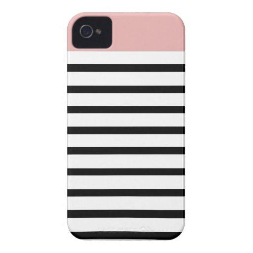 raya superior del coral iPhone 4 carcasas