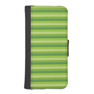 Raya verde billeteras para teléfono