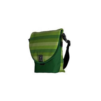 Raya verde bolsa messenger