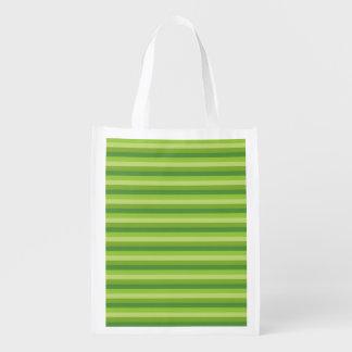 Raya verde bolsas de la compra