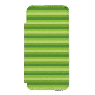 Raya verde funda billetera para iPhone 5 watson