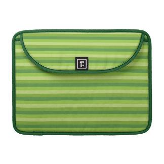 Raya verde funda macbook pro