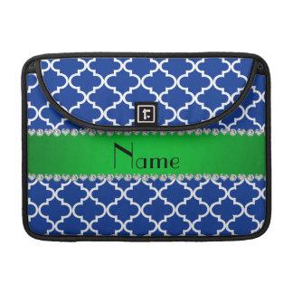 Raya verde marroquí azul conocida de encargo fundas macbook pro