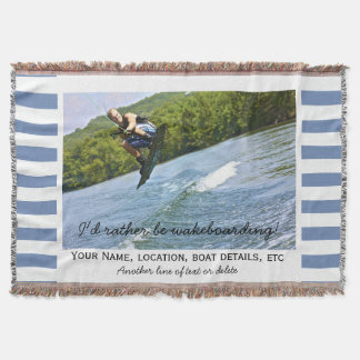 Rayado náutico de la foto de encargo del barco de manta