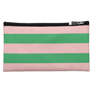 Rayado (palidezca - rosa y el verde)