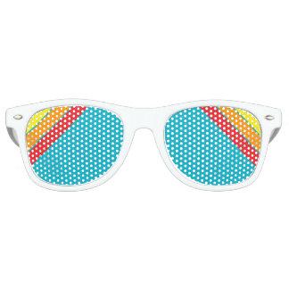 rayado retro lentes de fiesta