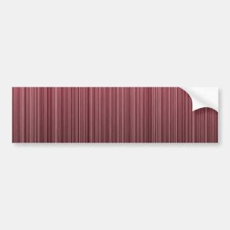 Rayado rojo etiqueta de parachoque