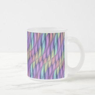 Rayar las ilustraciones en colores pastel del extr tazas