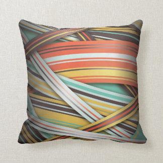 rayas abstractas 70s almohadas