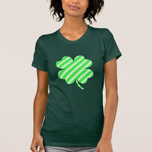 Rayas afortunadas camiseta