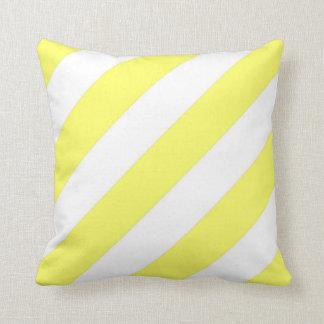 Rayas amarillas de Unmellow Almohadas