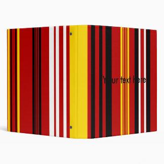 Rayas amarillas y blancas negras rojas modernas