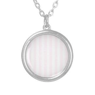 Rayas amplias - blancas y cordón rosado grimpola personalizada