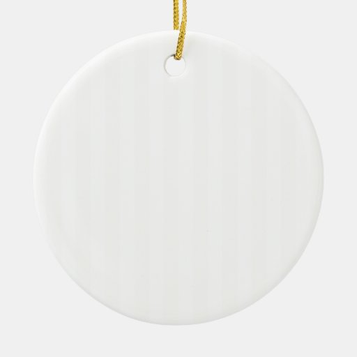 Rayas amplias - blanco y lino ornamente de reyes