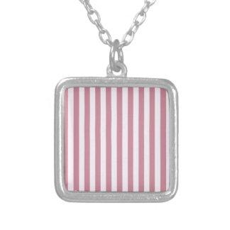 Rayas amplias - - cordón rosado y Puce Grimpola Personalizada