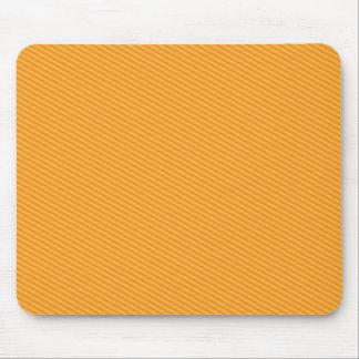 Rayas anaranjadas tapete de ratón