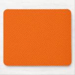 Rayas anaranjadas tapetes de raton
