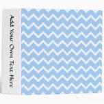 Rayas azul claro y blancas del zigzag