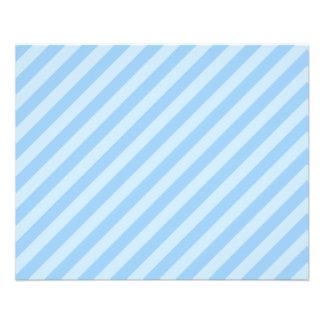Rayas azules claras tarjetas publicitarias