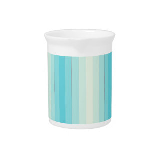 Rayas azules claras jarras de beber