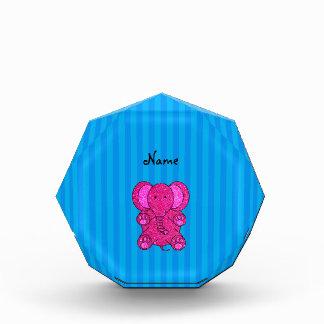 Rayas azules conocidas personalizadas del elefante
