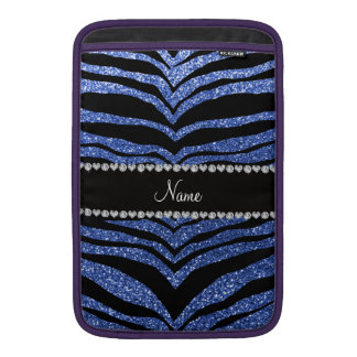 Rayas azules conocidas personalizadas del tigre de fundas macbook air