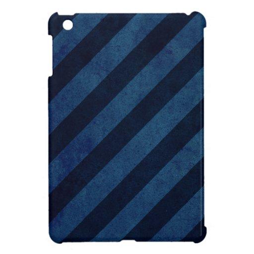 Rayas azules del Grunge iPad Mini Cobertura