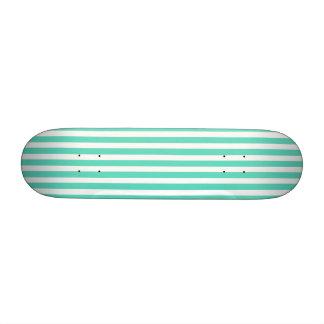 Rayas azules del marinero de la aguamarina de monopatín personalizado