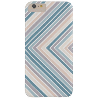 Rayas azules del moreno funda barely there iPhone 6 plus