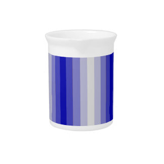 Rayas azules jarras