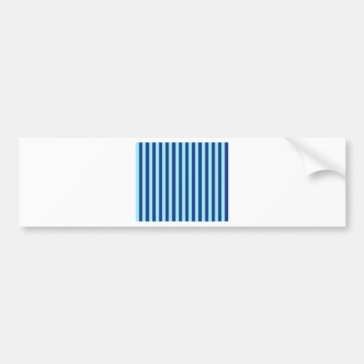 Rayas azules pegatina para auto