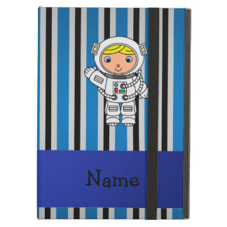 Rayas azules personalizadas del astronauta conocid
