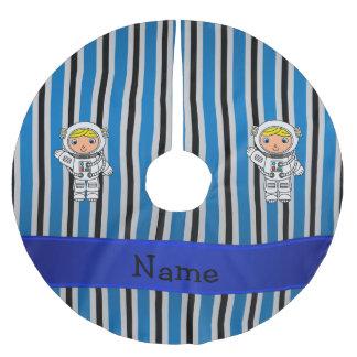 Rayas azules personalizadas del astronauta