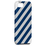 rayas azules y blancas del iPhone iPhone 5 Case-Mate Funda