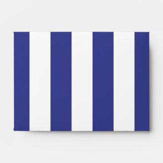 Rayas azules y blancas