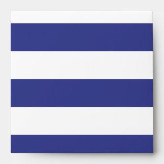 Rayas azules y blancas sobre