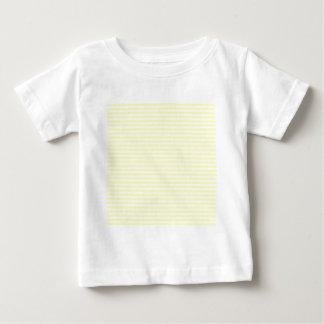Rayas - blancas y amarillo eléctrico tshirts