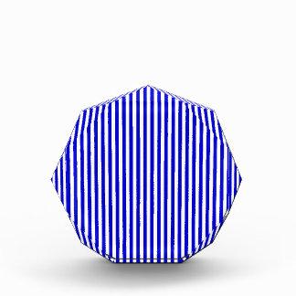 Rayas - blancas y azul medio