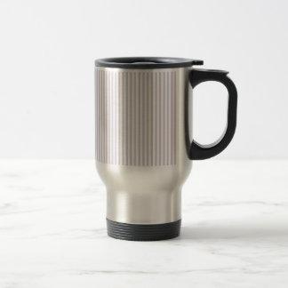 Rayas - blancas y lavanda lánguida tazas de café