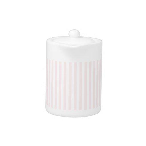 Rayas - blancas y pálidas - rosa