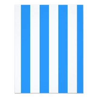 Rayas - blanco y azul de Dodger Anuncios Personalizados