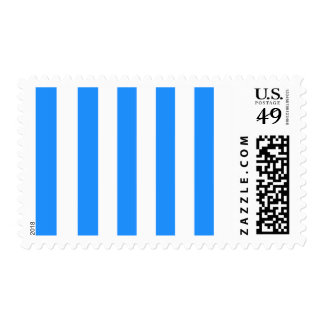 Rayas - blanco y azul de Dodger Franqueo