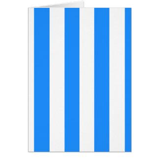 Rayas - blanco y azul de Dodger Tarjetas