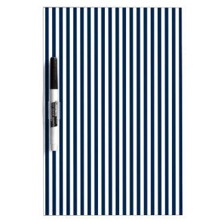 Rayas - blanco y azul de Oxford Pizarras