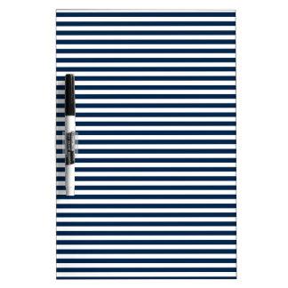 Rayas - blanco y azul de Oxford Pizarras Blancas De Calidad