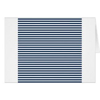 Rayas - blanco y azul de Oxford Tarjeton
