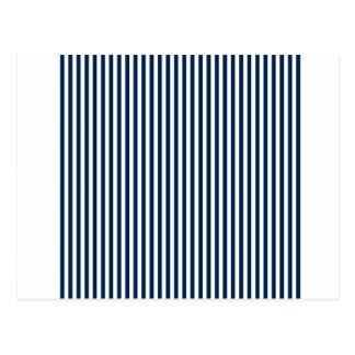 Rayas - blanco y azul de Oxford Postales