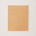 Rayas - blanco y naranja puzzles