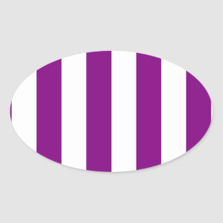 Rayas - blanco y púrpura