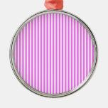 Rayas - blanco y ultra rosa ornato